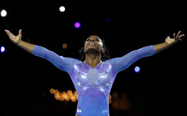 Nuovo CAPRA: Simone Biles fa la storia vincendo la 25esima medaglia del campionato del mondo