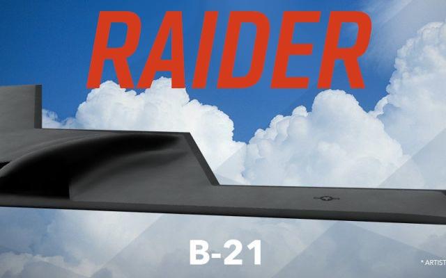 El próximo bombardero furtivo de Estados Unidos se llama oficialmente B-21 Raider