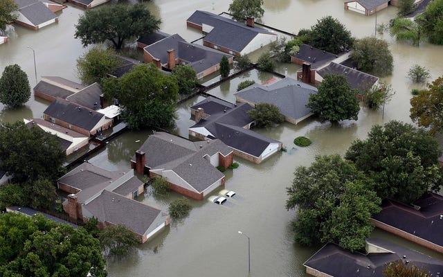 Ураган Харви стал крупнейшим в истории США наводнением