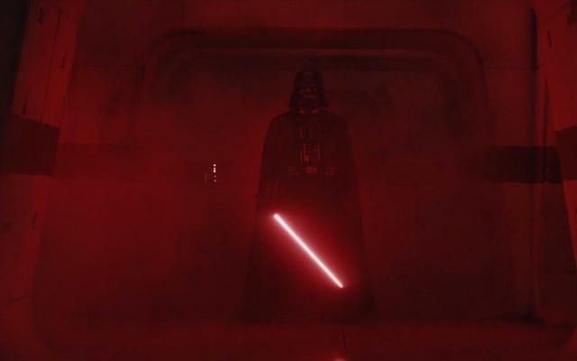 Questo è il modo in cui questo fan celebra Star Wars Day: percorrendo un percorso sotto forma di Darth Vader ogni anno