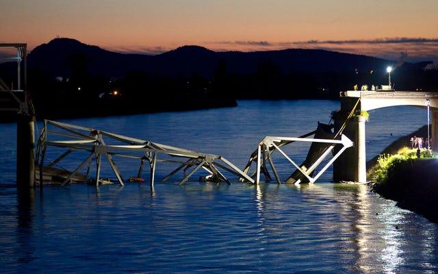 Rapport: Les ponts effondrés de la nation empêchent des centaines d'Américains de sauter chaque année