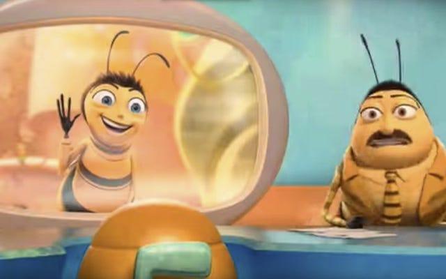 """लोग बेवजह """"20,000X गति"""" पर Bee Movie देखने के लिए उमड़ पड़े हैं"""