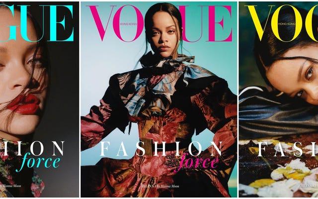 Zurück in die Schule: Rihanna tötet alle anderen September-Cover - und hat gerade einen Song mit Megan Thee Stallion registriert?