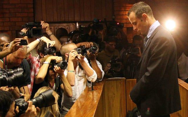 Oscar Pistorius Cinayetten Mahkûm Edildi, Daha Az Mahkumiyet Bozuldukça 15 Yıl Karşı karşıya