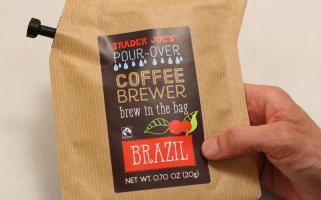 Trader Joe's Pour-Over Bag ที่สุดแห่งความสะดวกสบายของกาแฟหรือไม่?