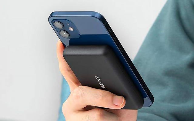 AnkerはiPhone12用のMagSafeバッテリーでAppleを打ち負かします