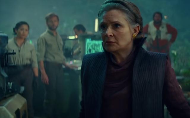 Una delle scene di Leia più importanti di The Rise of Skywalker nasconde un bellissimo uovo di Pasqua