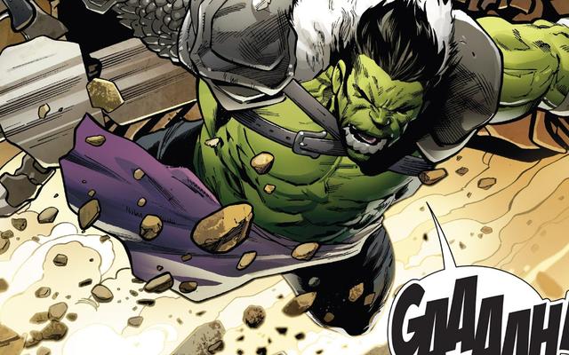 信じられないほどのハルクコミックがトールを襲った:可能な限り最高の方法でラグナロク