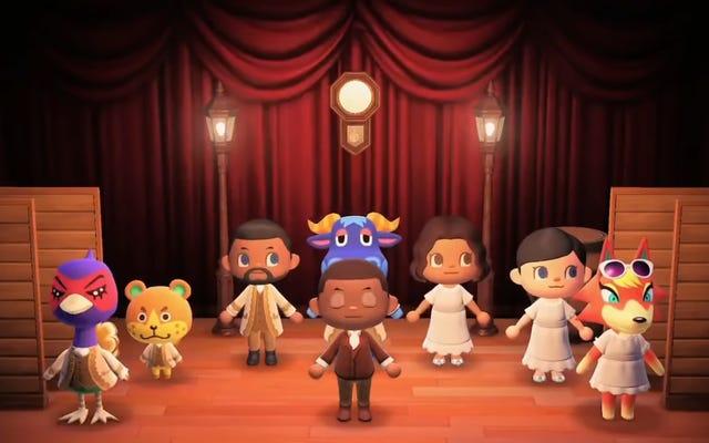 Alguien recreó todo el primer acto de Hamilton en Animal Crossing