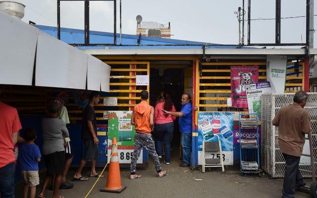 ハリケーンで荒廃したプエルトリコでトラック運転手としてボランティアをする方法は次のとおりです(更新)