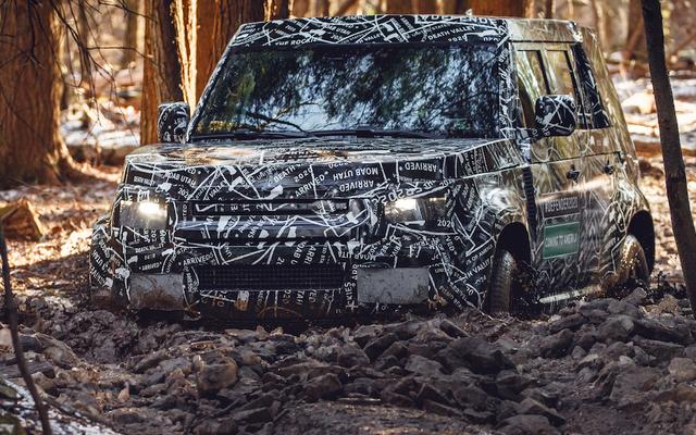 Voici un aperçu du nouveau Land Rover Defender tout-terrain