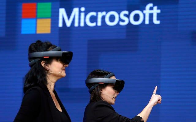 Ordu Microsoft'un HoloLens 2 Askeri Prototipinin Basın Demosunu Verdi