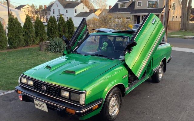 $ 9,500에이 커스텀 1985 Subaru Brat GL이 당신을 오작동하게 만들까요?