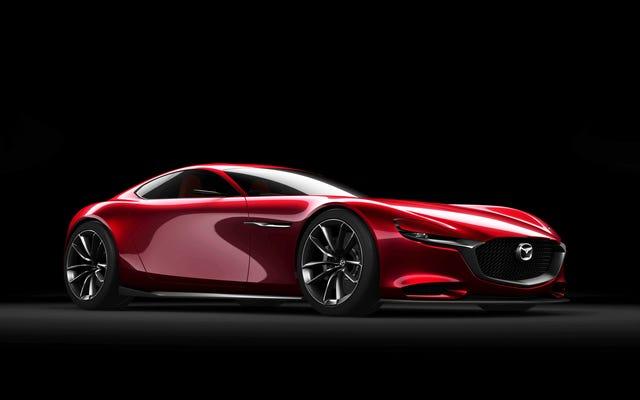 新しいマツダロータリースポーツカーは何年も来ないでしょう