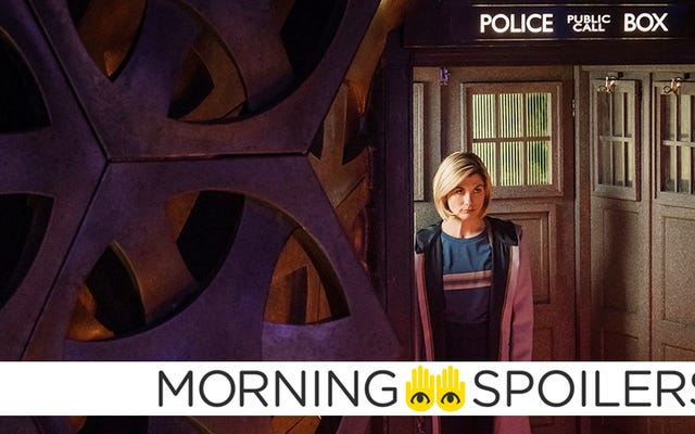 Nuove immagini dallo speciale di Doctor Who imminente per il nuovo anno