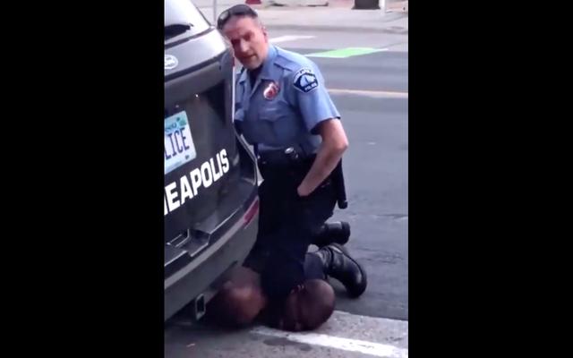 残忍な警察の逮捕に続いて黒人男性が拘留中に死亡した後のミネアポリスでの怒り:「私は呼吸できません!」[更新しました]
