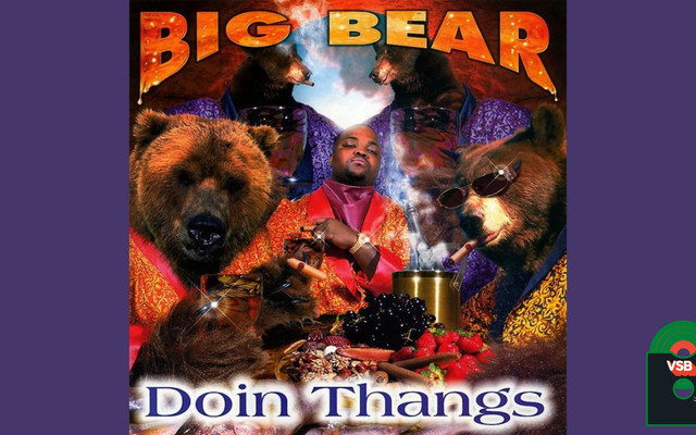 28 Days of Album Cover Blackness with VSB、Day 3:Big Bear Doin Thangs(1998)