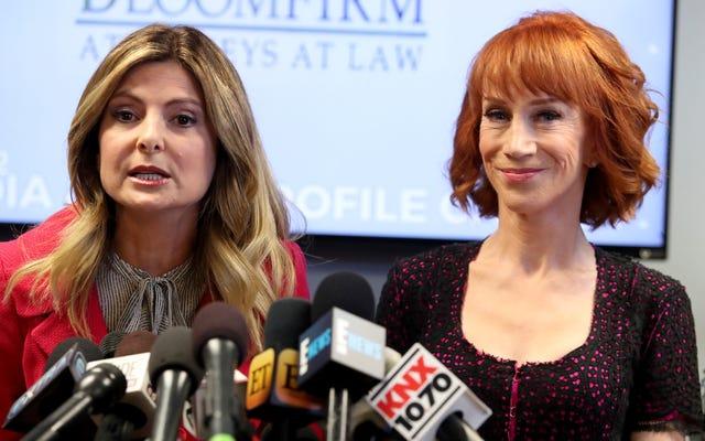 Kathy Griffin artık üzgün değil, sürtükler