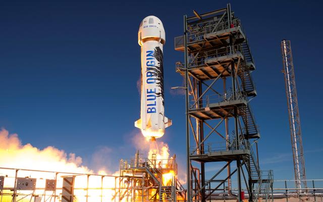 ブルーオリジンは2018年に観光客を宇宙に連れて行く予定です
