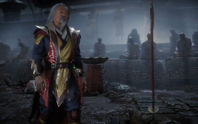 È bello vedere il film di Mortal Kombat Shang Tsung di nuovo in azione