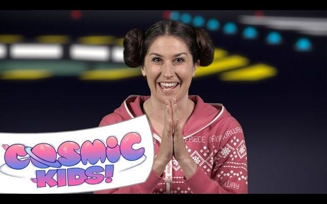 Cosmic Kids обучает детей йоге с помощью интерактивных историй
