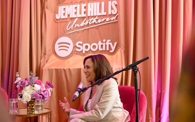 「私はただ物事を成し遂げることについてすべてです」:カマラ・ハリスはジェメル・ヒルで政治的で個人的になります