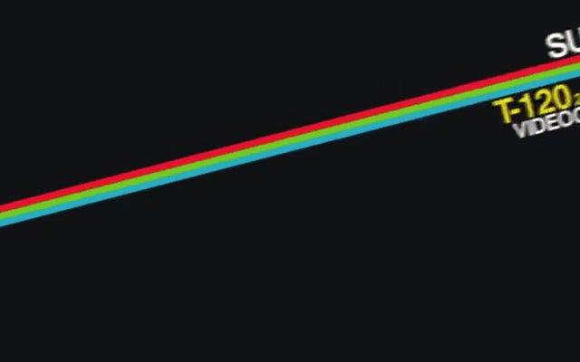VHSテープカバーのこの壮大なアニメーションで80年代の懐かしさを追体験