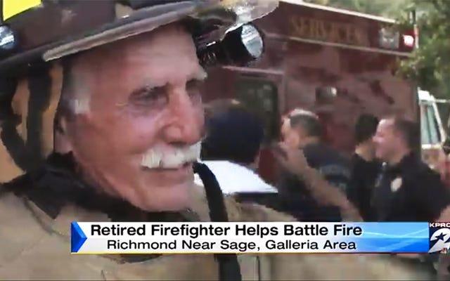 伝説の消防士が引退から湧き出て最後の炎と戦う