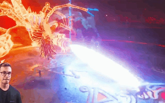 1人のプレーヤーが、武器なしでシールドのみを使用してゲームを終了します。