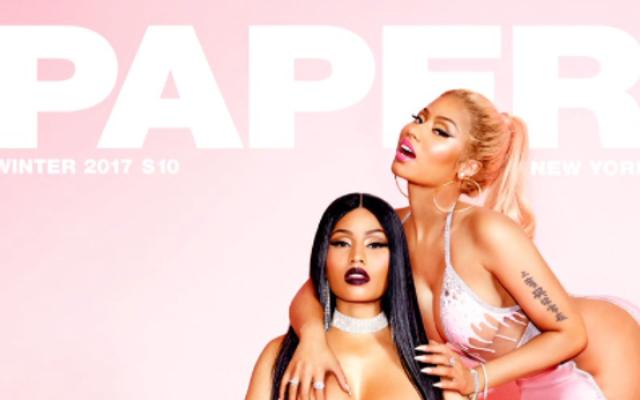 Reconozcamos ahora esta portada de la revista Nicki Minaj