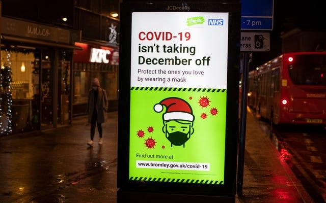 Uh-Oh: il Regno Unito ha una nuova varietà di COVID-19 ed è di nuovo in blocco
