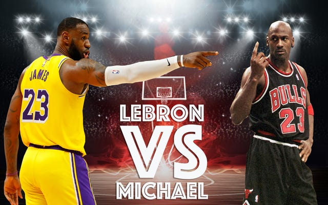 LeBron James è migliore di Michael Jordan, indipendentemente dal suo record finale