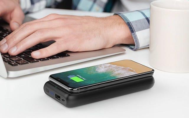 RAVPower a créé une batterie portable véritablement sans fil