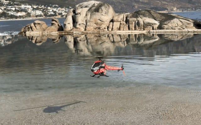 Questo piccolo elicottero RC potrebbe essere parte di un capitolo terrificante di Black Mirror