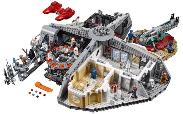 レゴはついにランドに彼にふさわしい2,800以上の巨大なクラウドシティを与えます