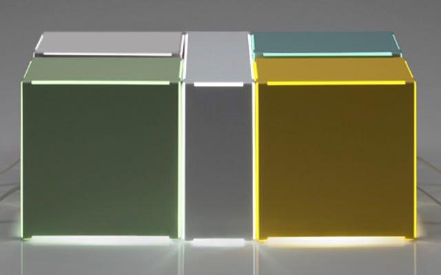 Lampu Boxy Memalsukan Cahaya Lampu Neon Tanpa Semua Yang Berdengung