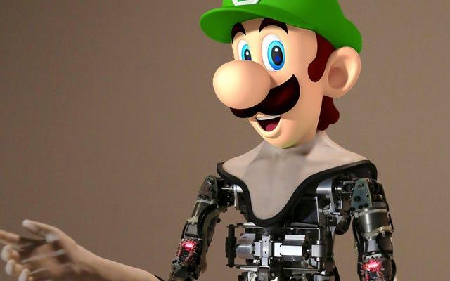 Just My Opinion: Perusahaan Menawarkan $ 130.000 untuk Wajah Robot Sempurna yang Harus Memilih Luigi