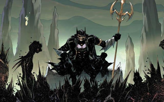 Самая крутая из темных ночей: Злой Бэтмен Металла - женщина
