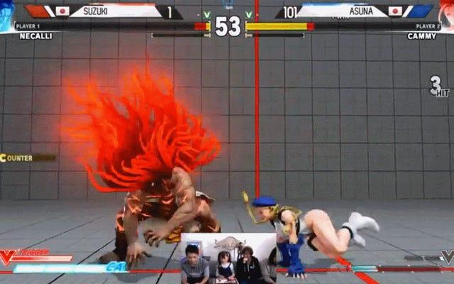 Prodigy Street Fighter di 10 anni fa il suo ingresso nello show di Daigo