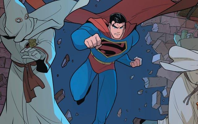 Superman Smashing The Klan khám phá lịch sử qua lăng kính siêu anh hùng