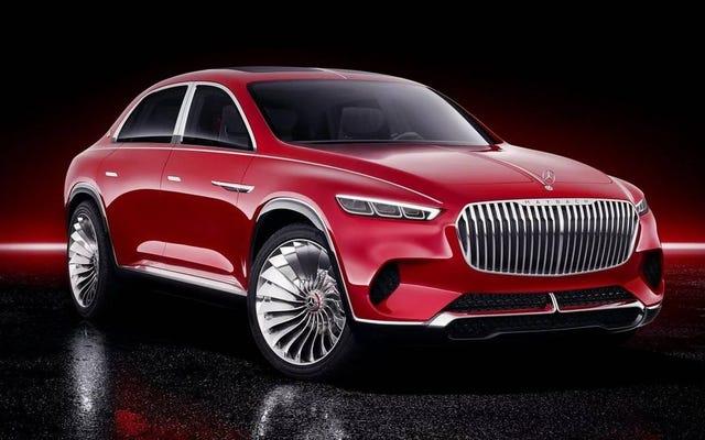 The Vision Mercedes-Maybach Ultimate Luxury SUV é muito grandioso para ficar bem