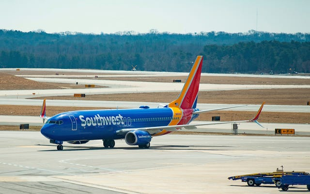 คุณสามารถรับโบนัสการสมัครจำนวนมากจากบัตรเครดิต Southwest Airlines Chase ได้ทันที