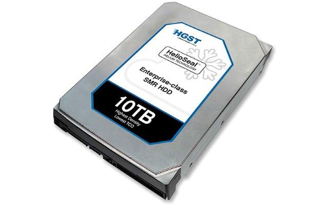 अफसोस की बात है कि यह 10TB हार्ड ड्राइव सर्वर के लिए डिज़ाइन किया गया है, आपके लैपटॉप के लिए नहीं