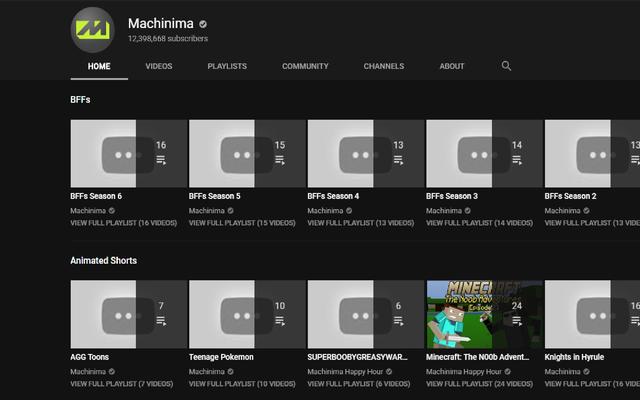 L'intero canale YouTube di Machinima è impostato su privato [AGGIORNAMENTO]