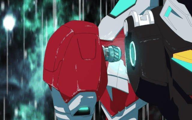 Efsanevi anime Voltron, Netflix'e geri dönüyor ve bu onun ilk fragmanı