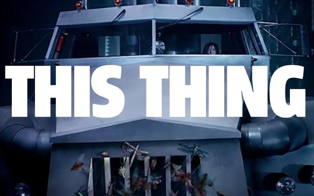 Niedoceniane fałszywe samochody z teledysków: ta ogromna ciężarówka z armii mnie Björk