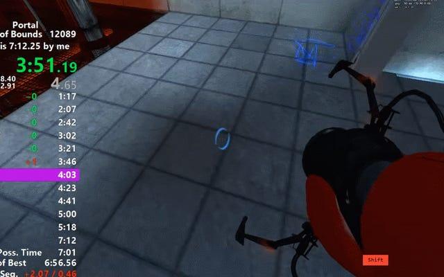 Portal Speedrun Oyunu ve Beynimi Kırıyor