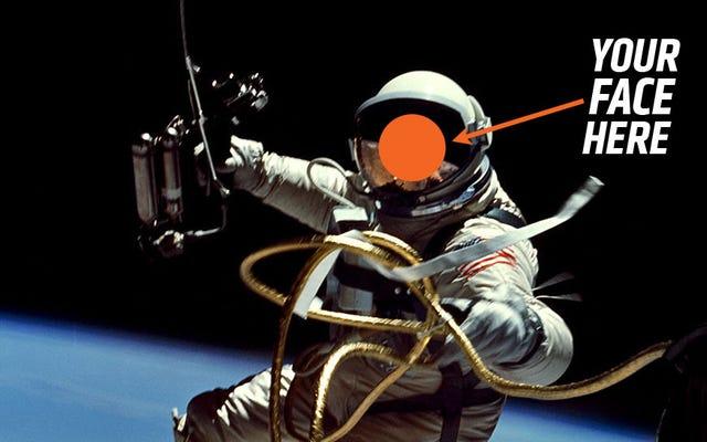 宇宙飛行士になりたいのなら、急いで、くそー