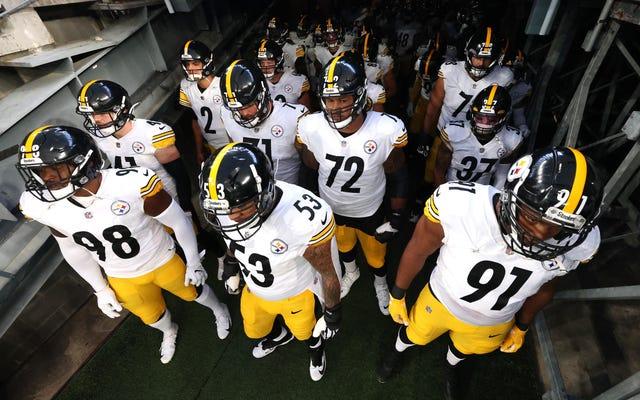 El enfrentamiento Cursed Steelers-Ravens ve un rasguño de COVID de último minuto