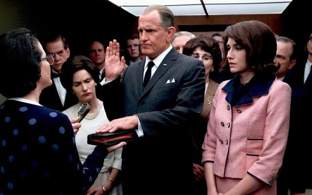 การแต่งหน้าของ Woody Harrelson ไม่ใช่สิ่งที่เลวร้ายที่สุดเกี่ยวกับLBJ